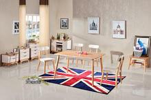 北欧成品 北欧?#30340;?#21487;伸缩餐桌现代简约折叠餐桌椅组合小户型餐厅家具饭桌
