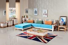 北欧成品 北欧小户型?#23478;?#27801;发创意省空间客厅拆洗L型转角贵妃沙发组合家具
