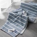 现代成品 现代纯棉浴巾毛巾三件套